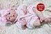Boneca Bebê Reborn Menina Detalhes Reais Linda Com Corpo Inteiro Em Vinil Super Promoção - Imagem 1