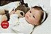 Boneca Bebê Reborn Menina Bebê Quase Real Delicada E Encantadora Acompanha Lindo Enxoval - Imagem 1