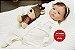 Boneca Bebê Reborn Menina Bebê Quase Real Delicada E Encantadora Acompanha Lindo Enxoval - Imagem 2