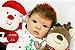 Boneca Bebê Reborn Menina Realista Lindíssima Bebê Quase Real Acompanha Enxoval E Acessórios - Imagem 1