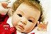 Bebê Reborn Menina Realista Bebê Artesanal Sofisticada Lindíssima Acompanha Acessórios - Imagem 1