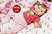 Boneca Bebê Reborn Menina Bebê Quase Real Lindíssima Com Lindo Enxoval Super Promoção - Imagem 2