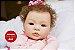 Bebê Reborn Menina Realista Bebê Quase Real Princesinha Linda Com Lindo Enxoval E Chupeta - Imagem 2