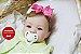 Bebê Reborn Menina Realista Lindíssima Bebê Recém Nascida Com Enxoval E Chupeta Super Promoção - Imagem 1