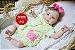 Bebê Reborn Menina Realista Lindíssima Bebê Recém Nascida Com Enxoval E Chupeta Super Promoção - Imagem 2
