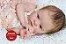 Bebê Reborn Menina Toda Em Silicone Sólido Detalhes Super Realistas Acompanha Lindo Enxoval - Imagem 1
