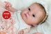 Bebê Reborn Menina Toda Em Silicone Sólido Detalhes Super Realistas Acompanha Lindo Enxoval - Imagem 2