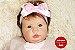 Bebê Reborn Menina Realista Membros Em Vinil Siliconado Linda Um Verdadeiro Presente Com Enxoval - Imagem 1