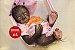 Bebê Reborn Animal Macaquinha Super Realista Um Verdadeiro Presente Com Enxoval - Imagem 2