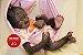 Bebê Reborn Animal Macaquinha Super Realista Um Verdadeiro Presente Com Enxoval - Imagem 1