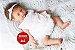 Boneca Bebê Reborn Menina Realista Toda Em Silicone Sólido Acompanha Lindo Enxoval - Imagem 1