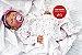 Boneca Bebê Reborn Menina Detalhes Reais De Um Bebê De Verdade Toda Em Silicone Sólido - Imagem 2