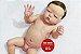 Bebê Reborn Menino Super Realista Todo Em Vinil Siliconado Bebê Com Chupeta e Enxoval Promoção - Imagem 2