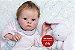Boneca Bebê Reborn Menina Super Realista Toda Em Silicone Sólido Um Verdadeiro Presente - Imagem 2