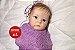 Boneca Bebê Reborn Menina Super Realista Toda Em Silicone Sólido Um Verdadeiro Presente - Imagem 1