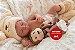 Bebê Reborn Menina Toda Em Silicone Sólido Com Detalhes Reais Acompanha Enxoval E Acessórios - Imagem 2