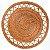 Sousplat 38cm Rattan Marrom - RT8111 - Imagem 1