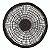 Sousplat 38cm Fibra Natural Preto - RT8630 - Imagem 1