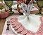 Porta guardanapo orelha floral bordô - Imagem 2