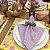 Guardanapo xadrez lilás - Imagem 1
