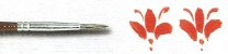 Pincel 142 Redondo Marta Tropical Cabo Longo (Rodin/TIGRE) - Imagem 2