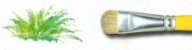 Pincel 151 Lixado / Filbert Cerda Branca (Pinctore/TIGRE) - Imagem 3