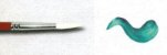Pincel 478 Sintético Branco Sable Touch Cabo Extra Longo (Pinctore/TIGRE) - Imagem 2