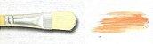 Pincel 814 Filbert Língua de Gato Cerda Branca (Pinctore/TIGRE) - Imagem 3