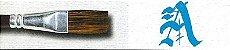 Pincel 189 para Letras, Pelo de Orelha de Boi, Cabo Curto (Pinctore/TIGRE) - Imagem 3