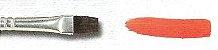 Pincel 281 Quadrado Pônei Cabo Longo (Pinctore/TIGRE) - Imagem 2