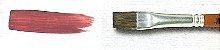 Pincel 286 Chato, Pelo de Pônei, Cabo Curto (TIGRE) - Imagem 5