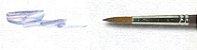 Pincel 312 Redondo Marta Red Sable (Pinctore/TIGRE) - Imagem 1