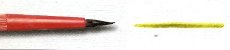 Pincel Escolar 220 Guache Pelo de Pônei, Cabo Curto (Pinctore/TIGRE) - Imagem 5