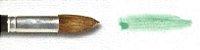 Pincel 155 Redondo Pontiagudo Orelha de Boi Cabo Médio (Pinctore/TIGRE) - Imagem 4