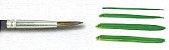 Pincel 182 Redondo Orelha de Boi Cabo Longo (Pinctore/TIGRE) - Imagem 3