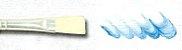 Pincel Cerda Branca Alvejada e Longa, Cabo Extra Longo Ref. 365 (Marsel/TIGRE) - Imagem 3
