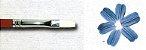 Pincel 491 Chato Sintético Branco, Cabo Extra Longo (Pinctore/TIGRE) - Imagem 3