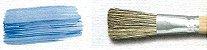 Pincel 821 Oval para Base (Basecoater), Cerda Gris, Cabo Médio (Mestre/TIGRE) - Imagem 3