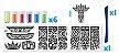 KIT CREATIV MINI BOX - ARTE COM AREIA - Imagem 2