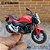 Miniatura Honda NC 750S 2018 Welly 1:18 - Imagem 2