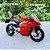 Miniatura Ducati Panigale V4 S 2018 Bburago 1:18 - Imagem 1
