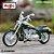 Miniatura Harley Davidson CVO FXSTDSE 2004 Maisto 1:18 - Series 37 - Imagem 1
