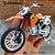 Miniatura KTM 520 SX 1998 Maisto 1:18 - Imagem 1