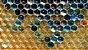 Anel Cristal de Ágata azul céu, verde e mel Maxi Trio Happy Days - Imagem 7