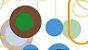 Anel Cristal de Ágata verde, azul céu e marrom Maxi Flex Amazon - Imagem 7