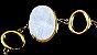 Pulseira Bracelete Quartzo Geodo Drusa 1G - Imagem 5
