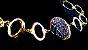 Pulseira Bracelete Quartzo Geodo Drusa Titânio 1 G  - Imagem 5