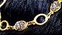 Pulseira  Cristal de Geodo de Rocha de Quartzo Titânio P - Imagem 3