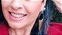 Brincos Esmeralda Verdadeira e Quartzo Cristalino Multifacetado com Franja Slim Scandal - Imagem 7