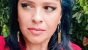 Brincos Esmeralda Verdadeira e Quartzo Cristalino Multifacetado com Franja Slim Scandal - Imagem 9